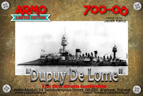 """Dupuy De Lome"" French Battle Cruiser 1890-91 - Image 1"