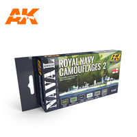 AK-5040 ROYAL NAVY CAMOUFLAGES 2 – NAVAL SERIES SET