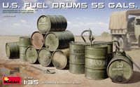U.S. FUEL DRUMS 55 GALS. - Image 1