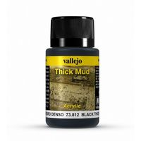 73812 Thick Mud -  Black Mud