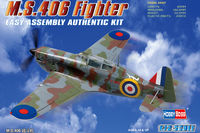MS406 French WWII Monoplane Fighter - Image 1