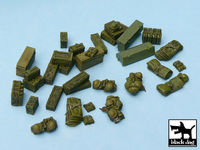 British equipment accessories set 33 resin parts - Image 1