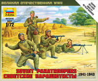 Soviet Paratroopers (1941-1943) Art of Tactic