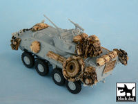 LAV 25 Iraq War for Trumpeter 07268, 17 resin parts