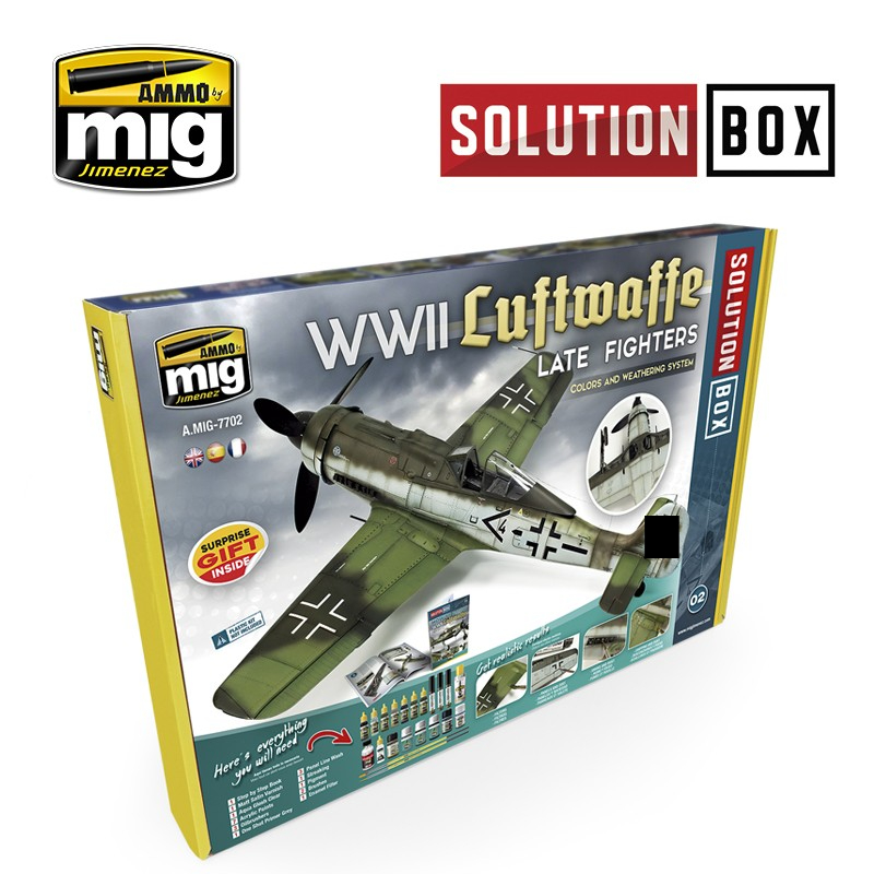 7702 WWII Luftwaffe late Fighter Solution Box - Image 1