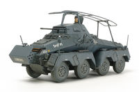 German 8-Wheeled Sd.Kfz.232 - Heavy Armored Car