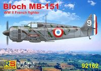 French fighter Bloch MB-151