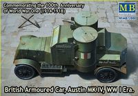British Armoured Car, Austin, MK IV, WW I Era  - Image 1