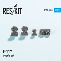 Lockheed F-117 wheels set