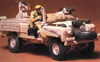 British SAS Pink Panther Land Rover