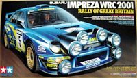 Subaru Impreza WRC 2001 Great Britain