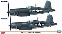 F4U-1A CORSAIR COMBO (Two kits in the box)