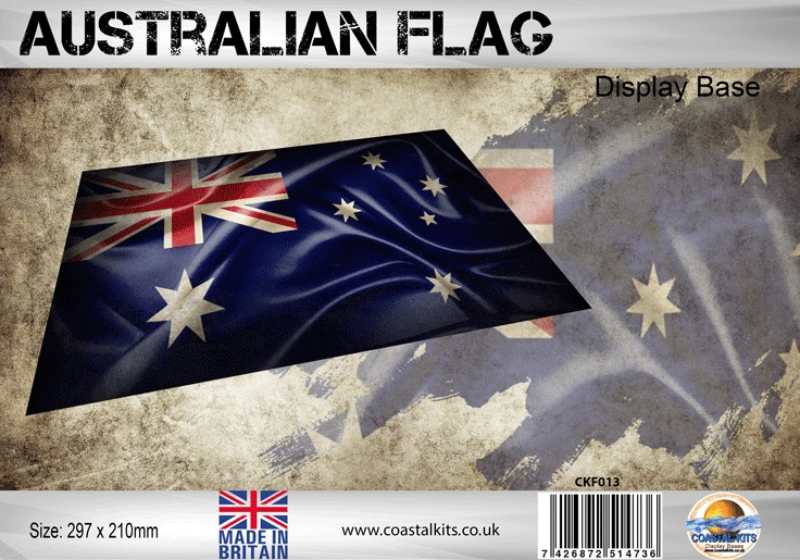 Australian Flag 297 x 210mm - Image 1