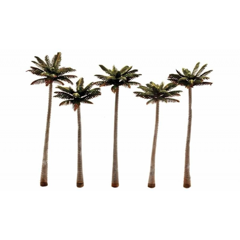 "3"" - 3 1/4"" Classic Small Palm Trees (5 / Pk) - Image 1"