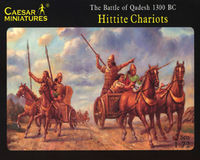 Hittitie Chariot (The Battle of Qadesz c.1300 BC)