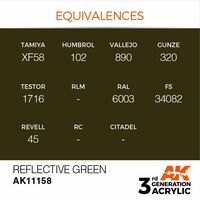 AK 11158 Reflective Green