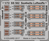 Seatbelts Luftwaffe WWII fighters STEEL - Image 1
