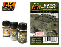 AK 073 Nato Weathering Set