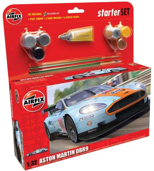 Aston Martin DBR9 Gulf Larger (Starter Set) - Image 1