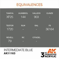 AK 11163 Intermediate Blue