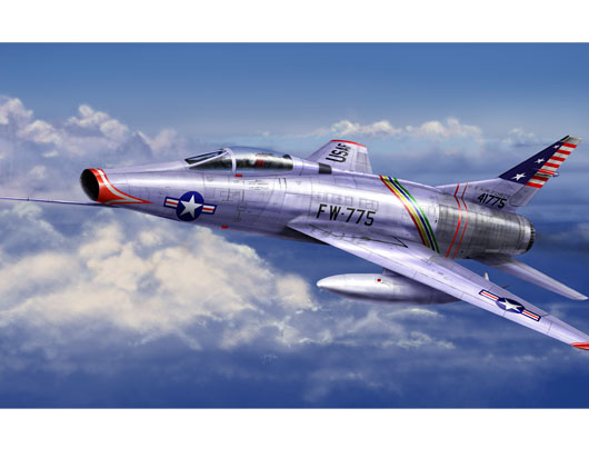 American jet fighter North American F-100C Super Sabre - Image 1