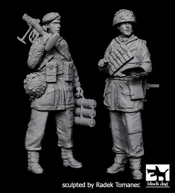 British paratropers set - Image 1